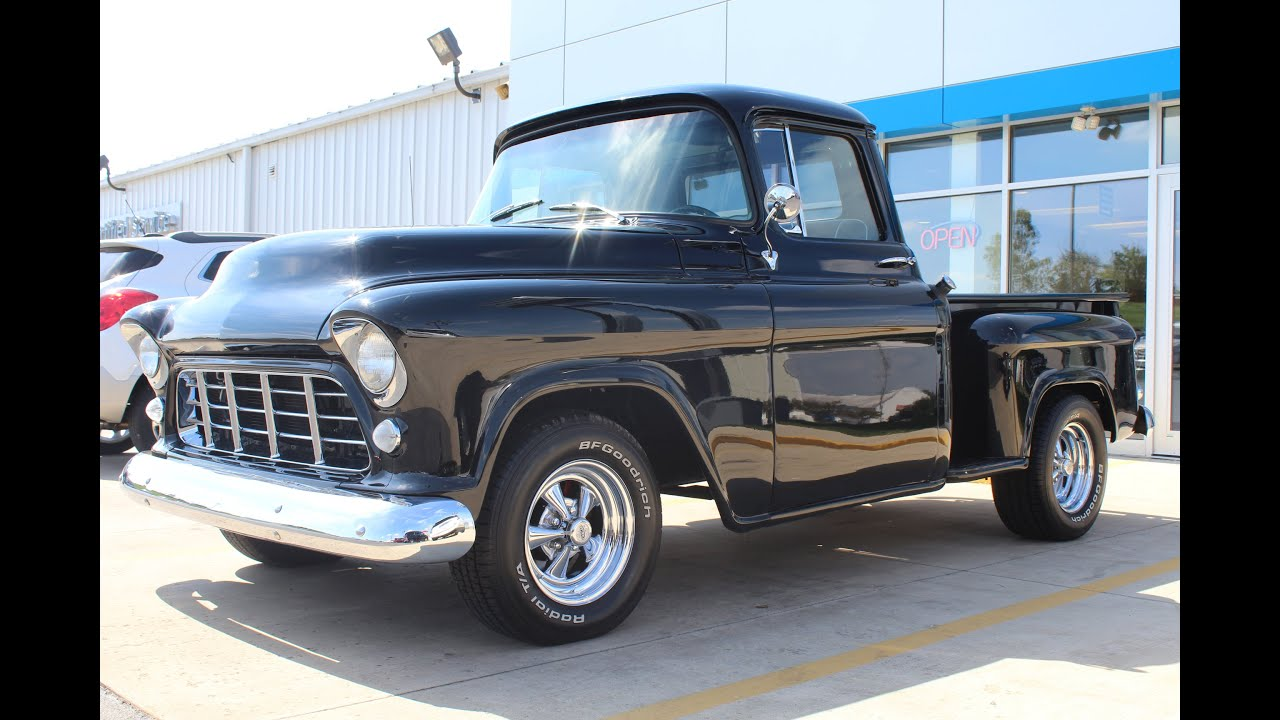 1955 Chevrolet 3100 Pickup Start Up And Tour For Sale