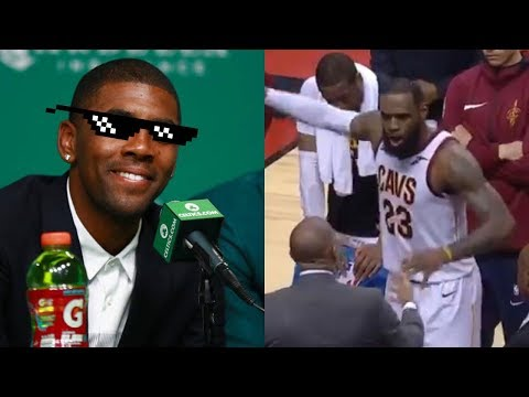Kyrie Irving TROLLS LeBron James Over Bench Temper Tantrum