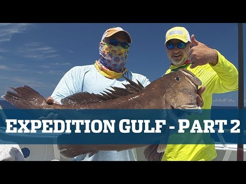 EXPEDITION GULF part 2 of 2 - Florida Sport Fishing TV