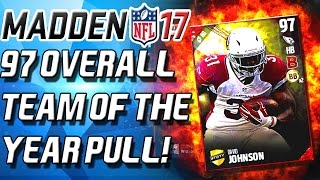 97 OVERALL TEAM OF THE YEAR PULL! - Madden 17 Ultimate Team