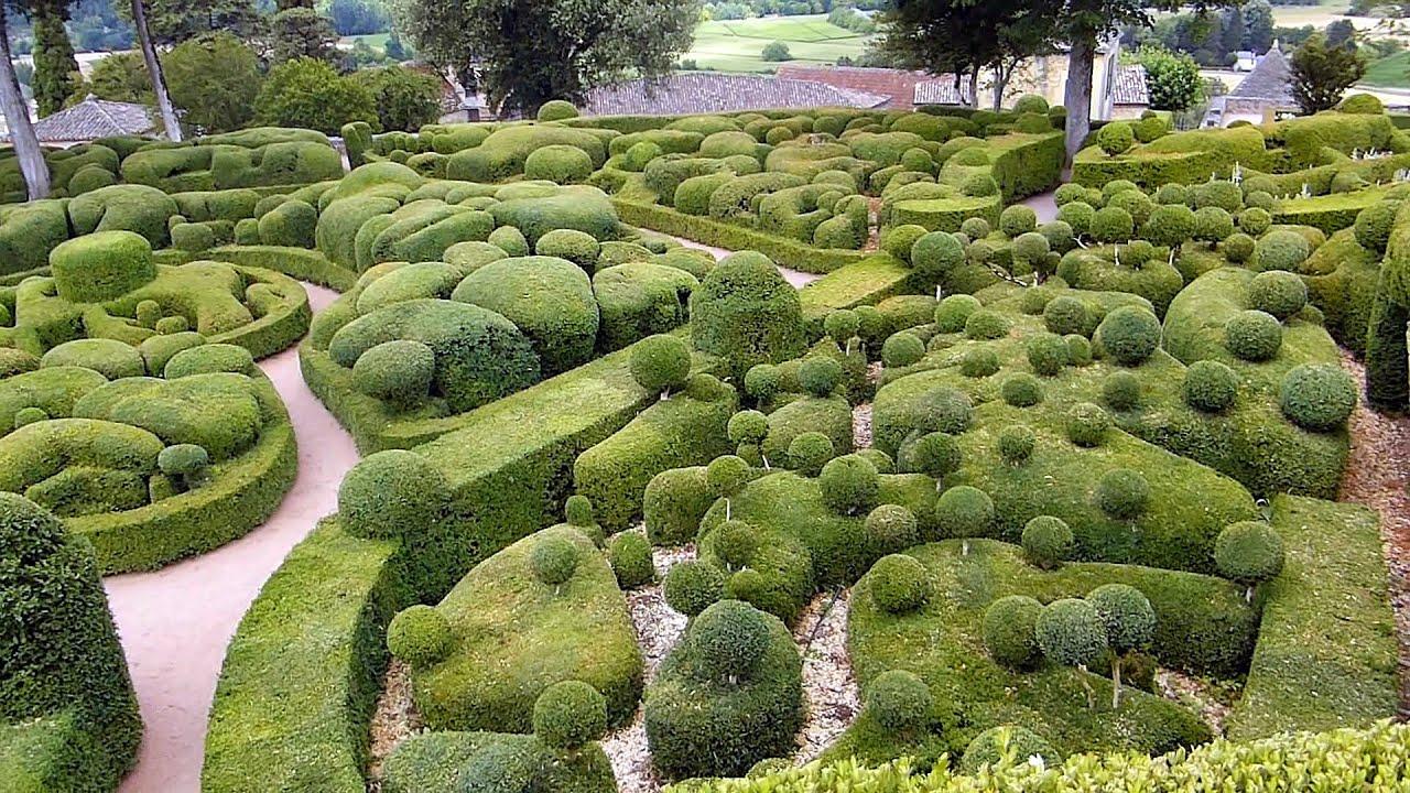 Jardins suspendus de marqueyssac dordogne hd youtube for Jardin suspendu