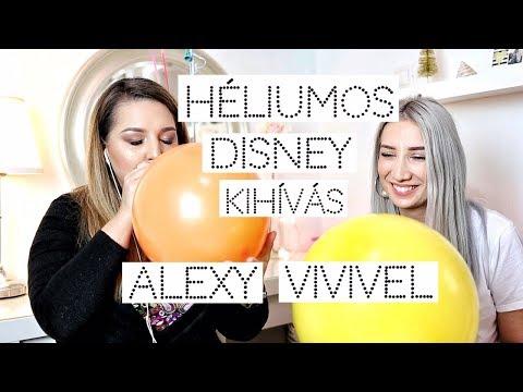 Héliumos Disney kihívás Alexy Vivivel 2018/ Brush
