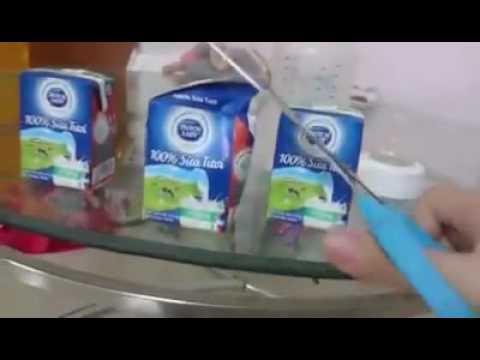 Bà Mẹ phát hoảng khi cắt hộp sữa Dutch Lady - Cô gái Hà Lan mua cho con mới 2016