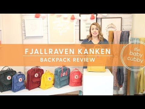 Fjall Raven Kanken Backpack Review: Classic & Mini