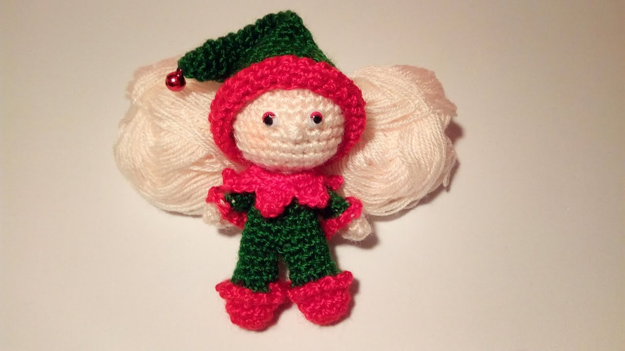Amigurumi Tutorial Natale : Elfo amigurumi tutorial elf crochet elfo crochet youtube