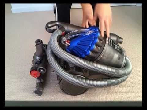 review dyson dc23 vacuum cleaner youtube. Black Bedroom Furniture Sets. Home Design Ideas