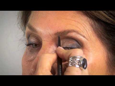Makeup for mature eyes