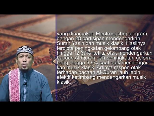 Dilarang Bicara Saat Sholat - AsbabunNuzul QS Al 'Araf 204 - Ust Dikdik