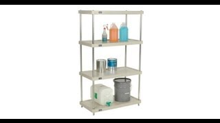 Plastic Shelving Units