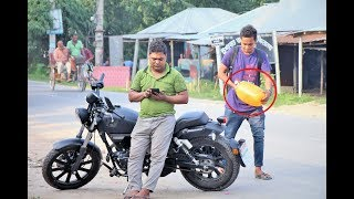 Popping Balloons - REACTION With Tyre Puncture Prank!