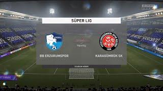 FIFA 21 BB Erzurumspor vs Karagumruk SK Turkey Super Lig 03 03 2021 1080p 60FPS
