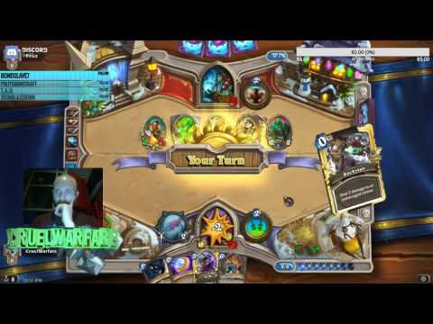 New Year Resolution?? Play more Hearthstone!! Pt 1