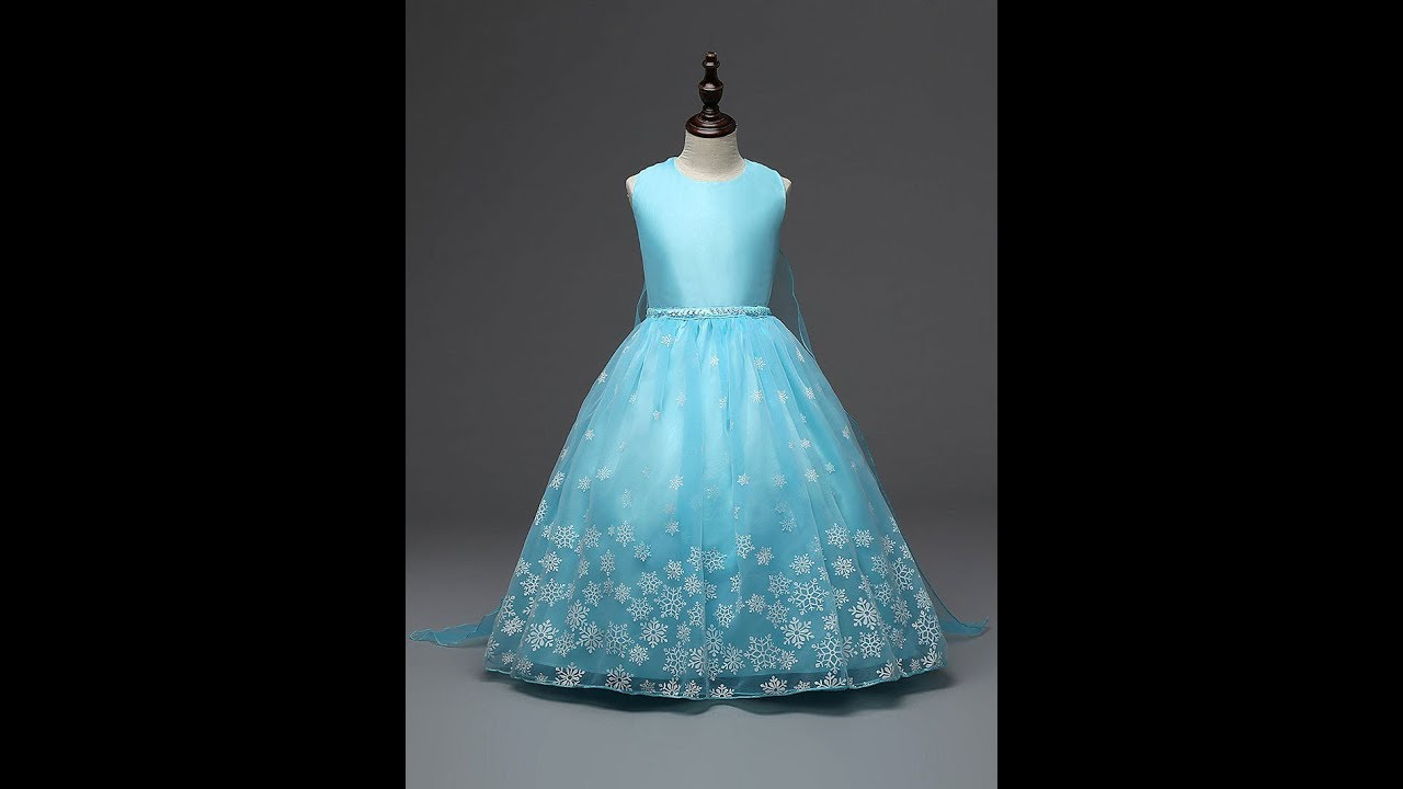 8ebcff8310 Demo  Frozen Teal Blue Dress available on Amazon.in  no audio  - YouTube