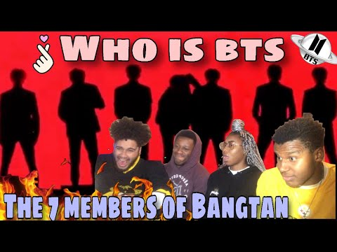 SIBLINGS REACT TO WHO IS BTS: THE SEVEN MEMBERS OF BANGTAN (FIRST TIME REACTING TO BTS)