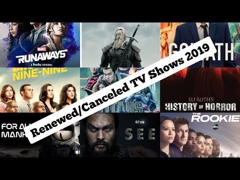 Canceled And Renewed TV Shows 2019 - 2020