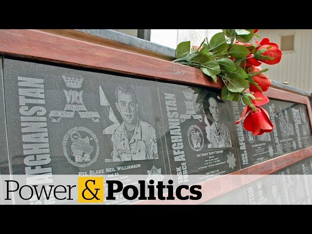Cenotaph for Canadian soldiers in Afghanistan to be rededicated   Power & Politics