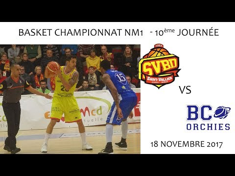 2017 11 18 47 rencontre sportive Basket NM1 10ème journée SVBD vs ORCHIES