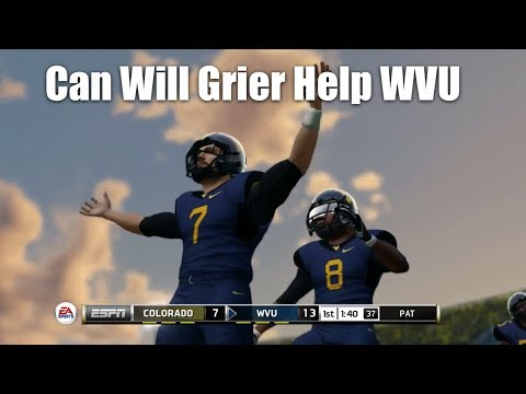 Can Quarterback Will Grier Be The Key For West Virginia