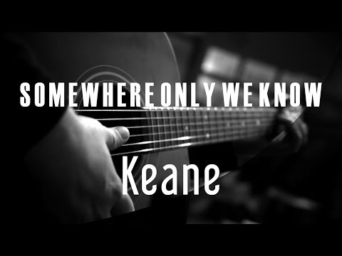 Somewhere Only We Know - Keane ( Acoustic Karaoke )
