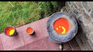 як зробити піч для металу