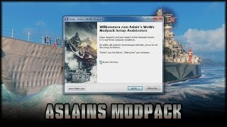 World of Warships - Aslains Modpack - Patch 0.5.0.0 [ deutsch | tutorial ]