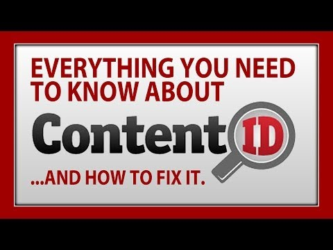 How To Deal With Copyright On YouTube: CONTENT ID Explained #WTFU
