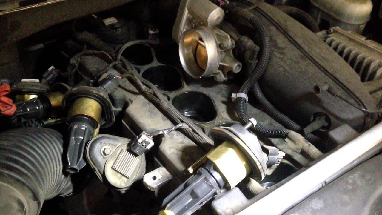 03 Trailblazer Wiring Diagram 2003 Oldsmobile Bravada Spark Plug Change Youtube