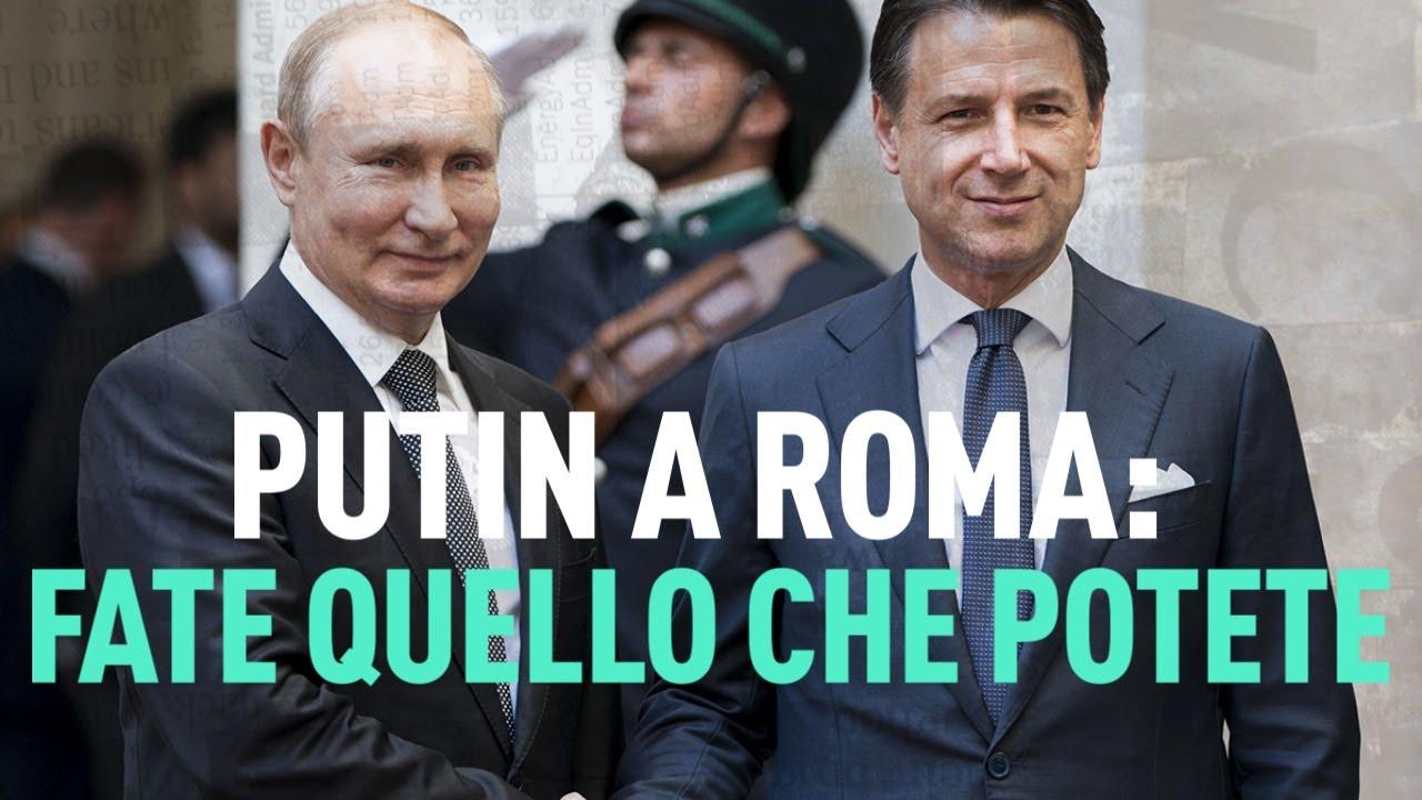 PTV News - 05.07.19 - Putin a Roma: fate quello che potete