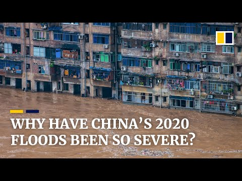 Why has flooding been so severe in China this year?