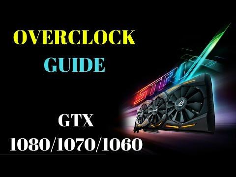 GTX 1080 Overclock Guide (Asus gpu tweak II guide as well)