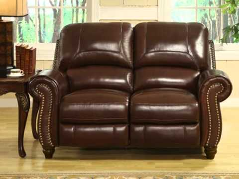 Beau Madison Leather Recliner Sofa Set By Abbyson Living
