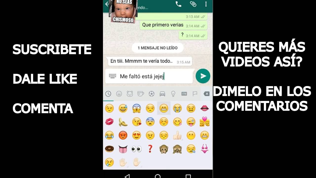 Como Excitar O Calentar A Una Mujer Sin Tocarla Por Whatsapp D Youtube