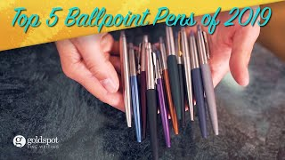 Top 5 Ballpoint Pens of 2019 - National Ballpoint Day Giveaway