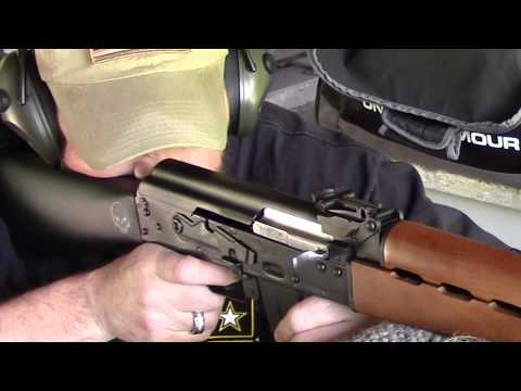 NEW ZASTAVA AK47 NPAP AND STOCK MODIFICATION