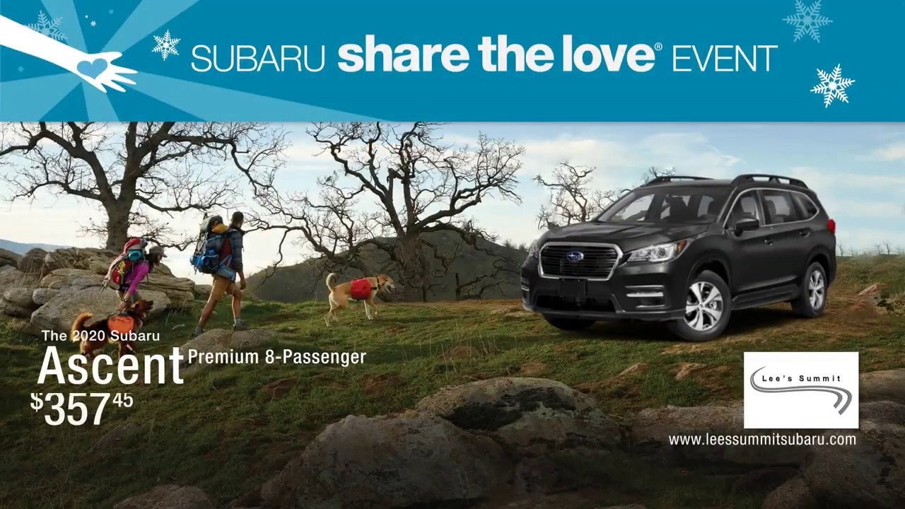 Lee'S Summit Subaru >> The 2020 Subaru Ascent Lee S Summit Subaru