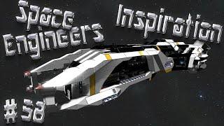 Space Engineers Inspiration - Episode 58: Deepspace Explorer, Kaikōhuru Cruiser, & Trajan
