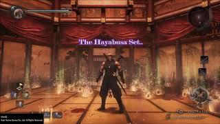 Nioh - How to make (the Ultimate Hayabusa set)