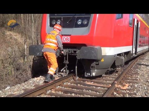 Betonklotz lässt Regionalexpress entgleisen - 03.03.2015