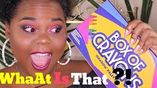 BOX OF CRAYON  CRASH TEST 😱YES 👍🏾 OR NOT 👎🏾 ❓[MAKE UP TUTORIAL]