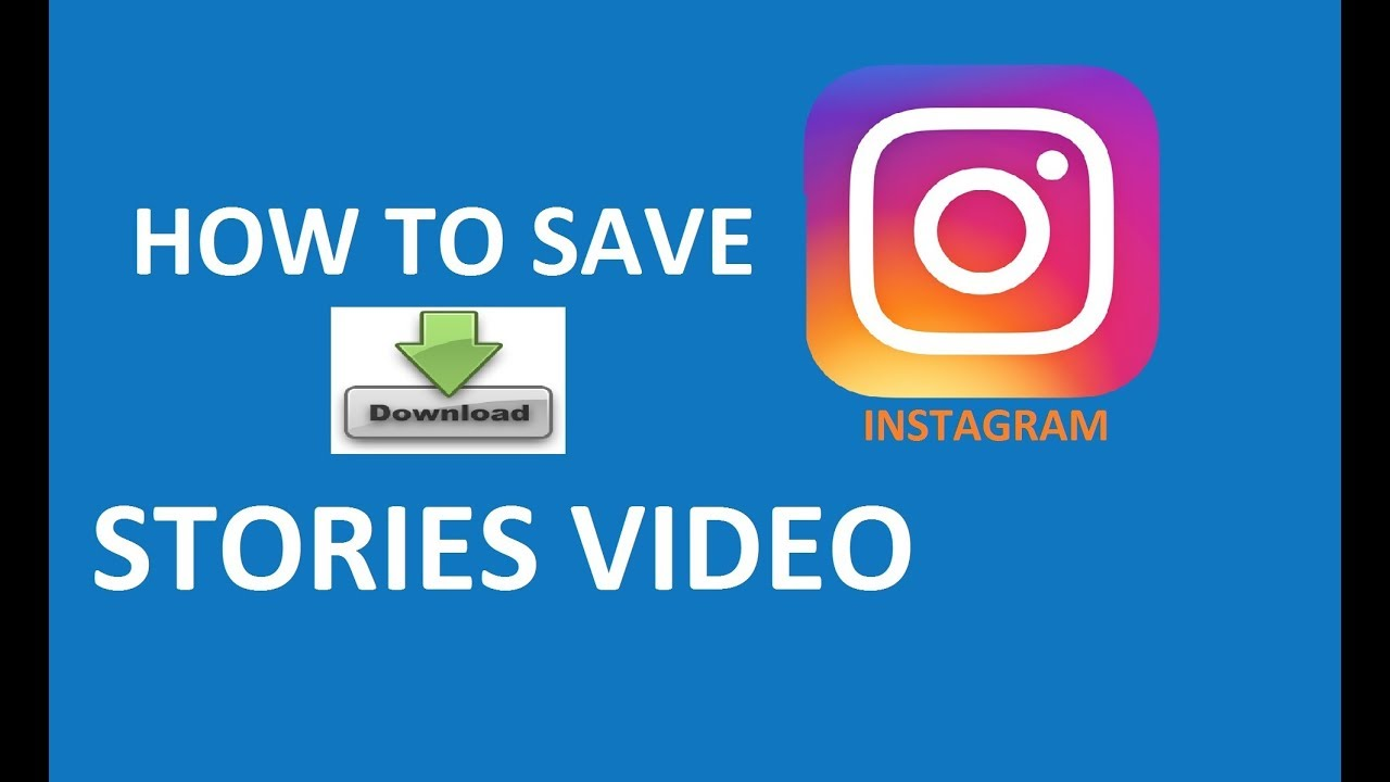 download instagram story video