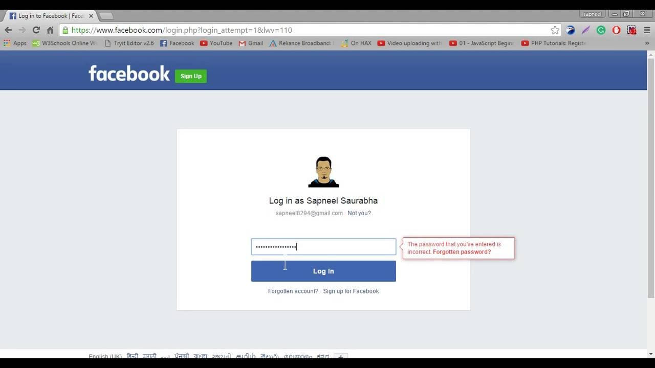 www facebook com login or sign up www