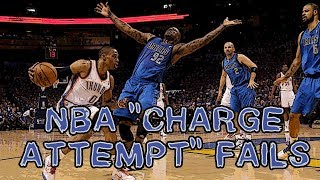 """NBA """"CHARGE ATTEMPT"""" Fails"""