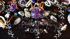My Favorite Divination Tools