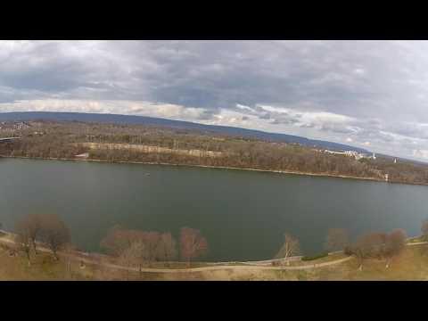 River Park, Chattanooga, TN Drone flight