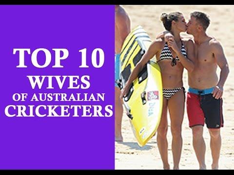 TOP 10 Australian cricketers wives (Mitchell Jhonson, David warner, Michael Clark, Brad Haddin)