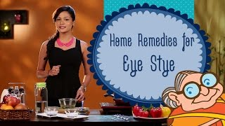 Home Remedies for Eye Sty (Stye) - How To Get Rid Of A Eye Stye - Causes, Symptoms & Treatment.