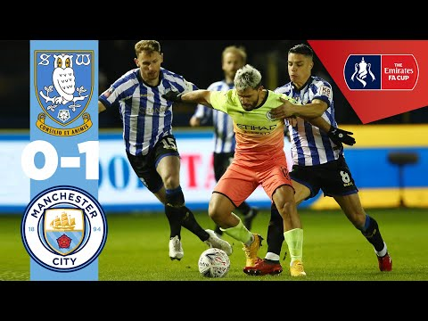 HIGHLIGHTS | SHEFF WEDS 0-1 MAN CITY | Aguero