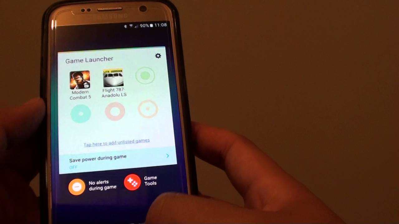 Samsung Galaxy S7: How to Enable / Disable Game Launcher