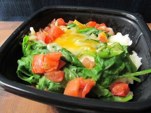 CarBS McDonald's Egg White & Turkey Sausage Breakfast Bowl