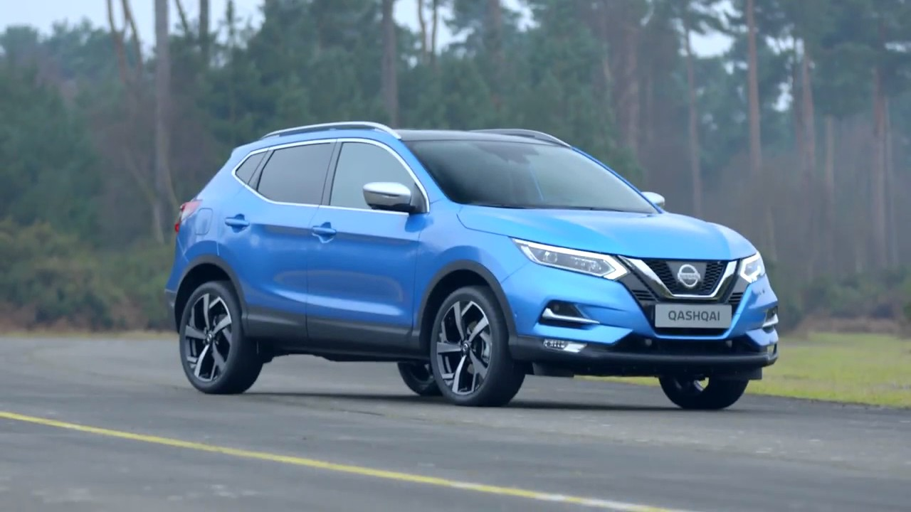 2017 nissan qashqai facelift exterior design youtube. Black Bedroom Furniture Sets. Home Design Ideas